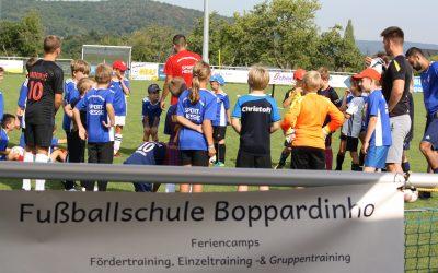 Boppardinho-Sommertour endet in Weiler – 30 Kinder besuchen  Abschlusscamp